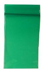 100 Zip-Tüten 40 x 60 mm grün