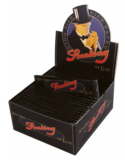 Smoking DELUXE, King Size - Box mit 50 Packungen