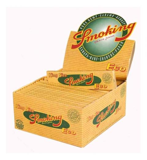 Smoking Eco, King Size - Box mit 50 Packungen