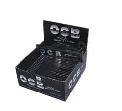 OCB Slim schwarz - Box mit 50 Packungen
