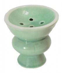 Keramik-Topf für Shishas, farbig, groß
