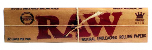 RAW King Size Slim: naturbelassene und ungebleichte Papers