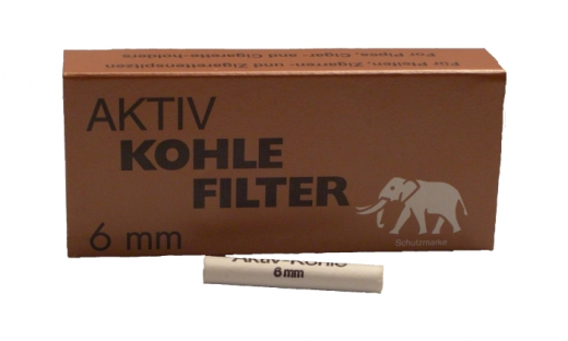 Aktiv charcoal filter White Elefant 45 pcs.