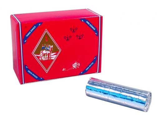 Shisha-Kohle groß, Rolle mit 10 Tabletten a 40 mm