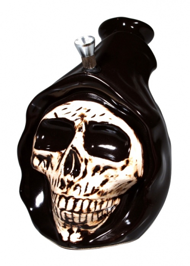 Keramikbong Dead Head mit Griff