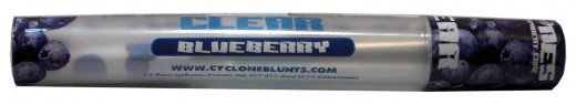 Blunts by CYCLONES: Clear Blueberry