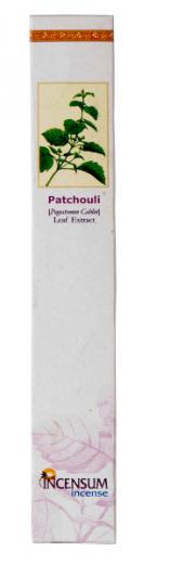 Räucherstäbchen von Incensum: Patchouli 10 Stk.