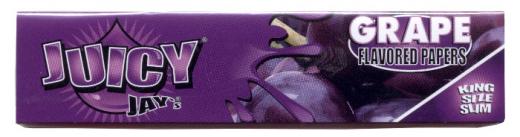 Juicy Jay aromatisierte Papers, Grape (Traube)