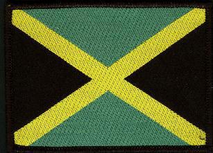 Aufnäher Jamaika Landesflagge