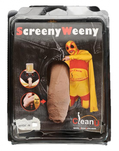 CleanU - Screeny Weeny, silicone penis