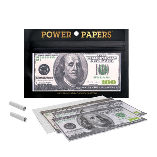 King Size Papers 100 Dollar inkl. Filtertips 12 Stk.