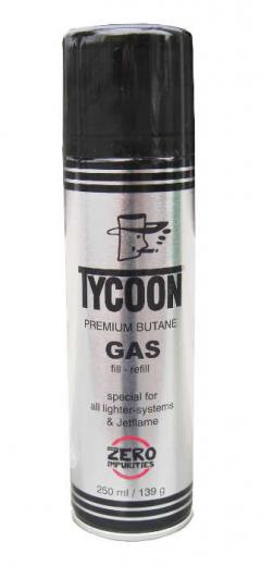 Feuerzeuggas Tycoon 250 ml (mehrfach kohlegereinigt)