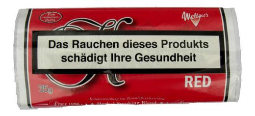 Kräutermischung bzw. Tabakersatz nikotinfrei Knaster Red