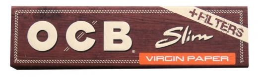 OCB Virgin Slim + Filters (unbleached)