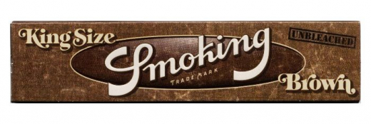 Smoking Braun, King Size - ungebleicht