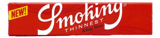 Smoking Thinnest King Size
