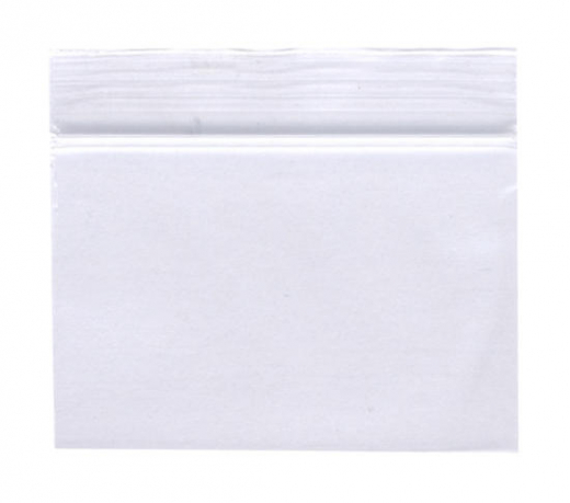 100 Zip-Bags 40 x 25 mm, clear, 50µ