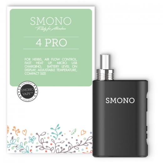 Vaporizer Smono No. 4 PRO black