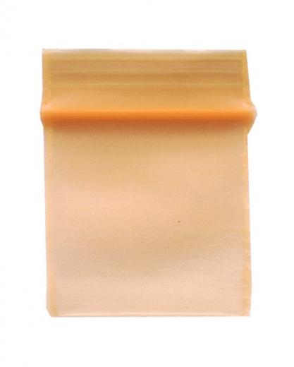 100 Zip-Tüten 18 x 18 mm, orange