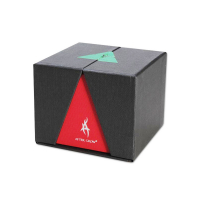 Alu grinder Thorinder by After Grow 62 mm, 4 parts: red/green
