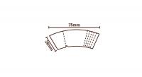 Filtertips RAW Cone Tips konisch 75 mm (32 Tips)