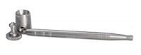 Screen Queen screenless pipe silver ca. 16 cm