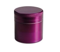 Aluminium powder mill Black Leaf purple ca. 50 mm diameter