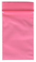 100 Zip-Tüten 40 x 60 mm, pink